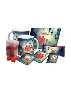 Lotus Theme Diwali Gift Hamper