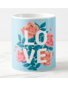 Love Valentines Mug - Blue