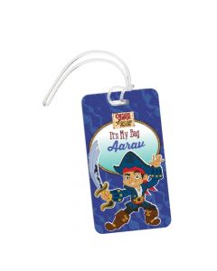 Captain Jake and the Neverland Luggage Tag