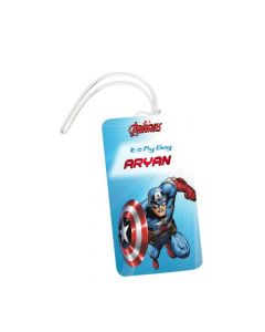 Captain America Luggage Tags
