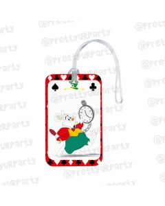 Alice in Wonderland Luggage Tags