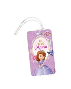 Sofia the first Enchanted Garden Party Luggage Tags