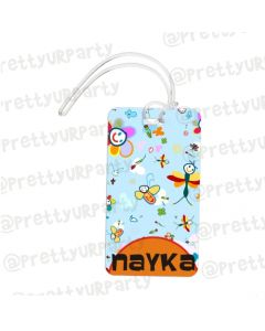 Luggage Tag Art 002