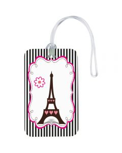 Paris Inspired Luggage Tags