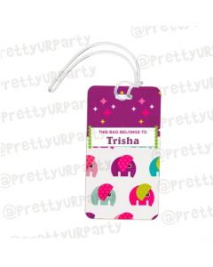 Luggage Tag Art 004