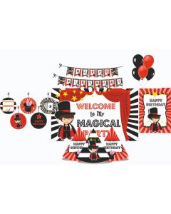 Magic Party Decorations Package - 70 pieces