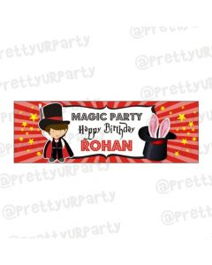 Personalized Magic Theme Banner 36in