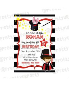 Magic Theme E-Invitations