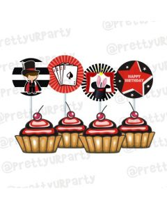 Magic Theme Cupcake / Food Toppers