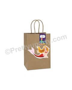 Mermaid Gift Bags - Pack of 10