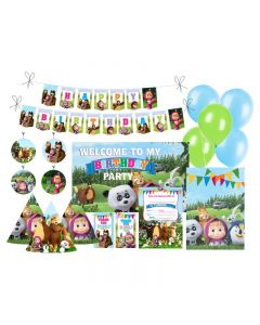 Masha and The Bear Party Decorations