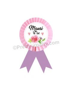 Mausi to be Rosette Badge