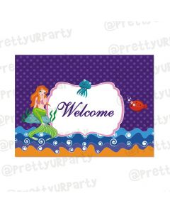 Mermaid Entrance Banner / Door Sign