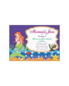 Mermaid E-Invitations