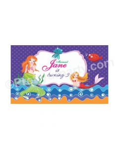 Mermaid Theme Backdrop