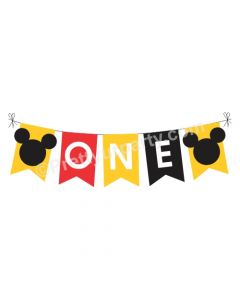 One Mickey Bunting