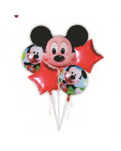 Mickey Mouse Foil Balloon - Pack of 5