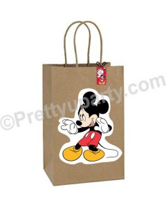 Mickey Mouse Theme Gift Bags - Pack of 10