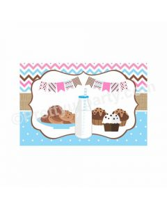 Milk and Cookies Theme Table Mats