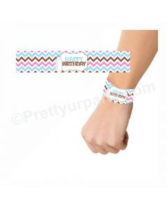 Milk and Cookies Theme Wrist Bands