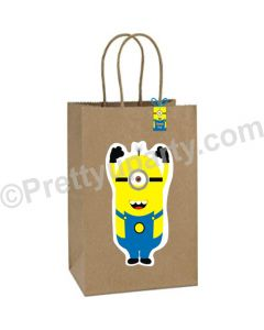 Minions Theme Gift Bags - Pack of 10