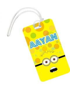 Despicable Me Minions Theme Luggage Tags
