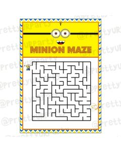Despicable Me Minions Maze Game