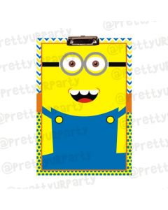 Personalised Minions Clipboards