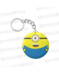 Personalised Minions Keychains