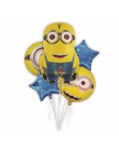 Minions Foil Balloon - Pack of 5