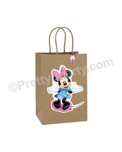 Minnie Mouse Theme Gift Bags - Pack of 10