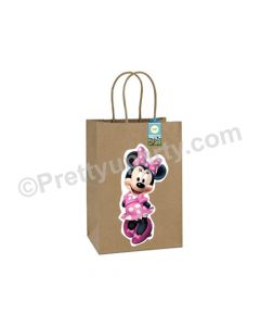 Minnie Mouse Clubhouse Gift Bags - Pack of 10