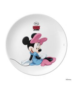 Disney Minnie Mouse Personalised Plate