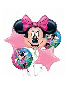 Minnie Mouse Foil Balloon - Pack of 5