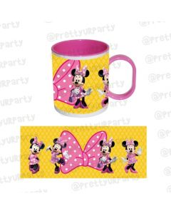 Minnie Mouse Clubhouse Mug with coloured insides