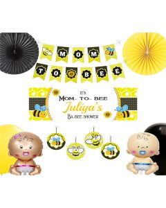 Mom to Bee Baby Shower Decorations Package