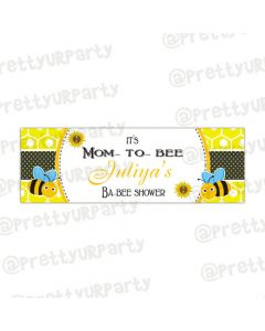 Personalized Mom to bee banner