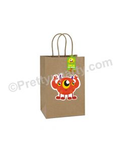 Monsters Gift Bags - Pack of 10