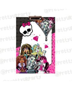 Personalised Monster High Clipboards