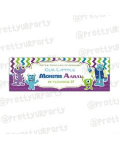Personalized Monsters Inc. banner