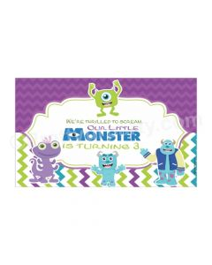 Monsters Inc Theme Backdrop