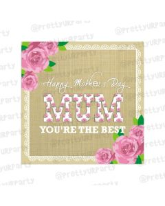 Mothers day Mom You're The Best Card