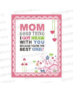 Mothers day Mom Good Thing Card