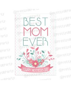 Mothers day Best Mom Card