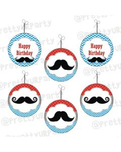 Moustache Theme Danglers