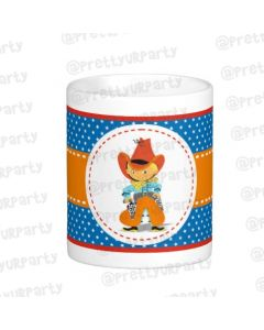 Personalised Little Cowboy Mug