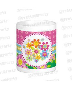 Personalised Flowers Mug