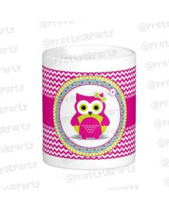 Personalised Girly Owl Mug