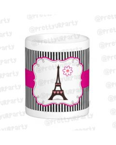 Personalised Paris Inspired Mug