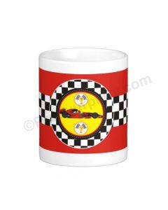 Personalised Race Car Mug